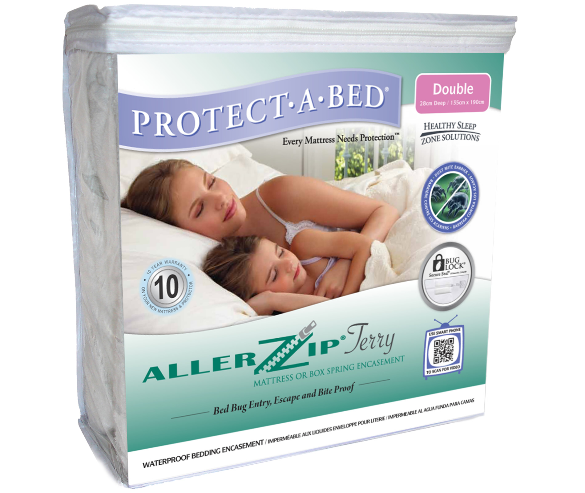 Protect A Bed Terry Mattress Protector Linge Des Alpes